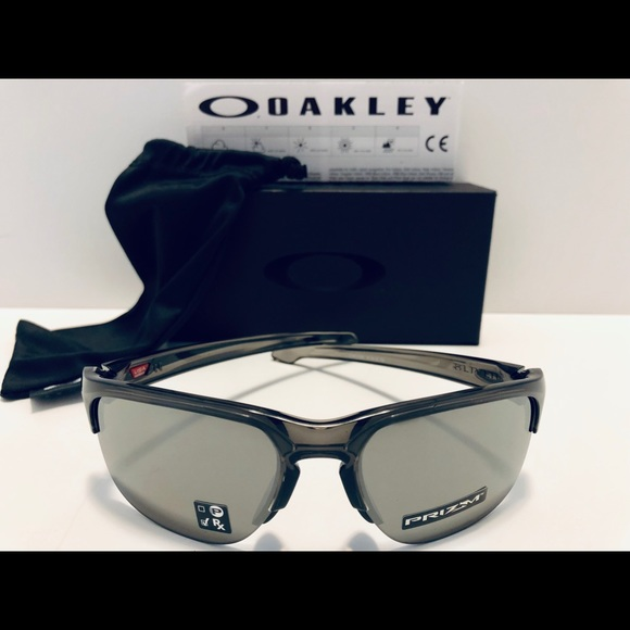 Oakley Sliver Edge Sunglasses Grey Smoke Prizm New 03d47f9fd6